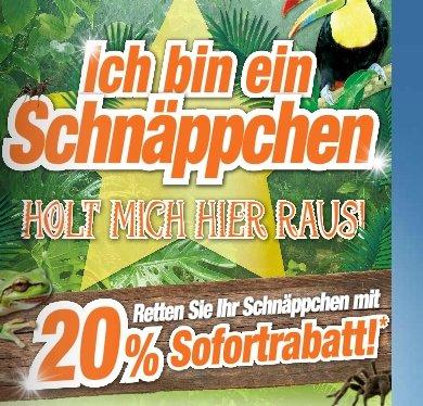 """[LOKAL] expert Görlitz 20% auf alles!!!  """"Ich bin ein Schnäppchen - Holt mich hier raus"""""""