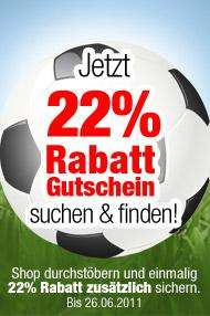 22% auf alles bei Dress-for-less