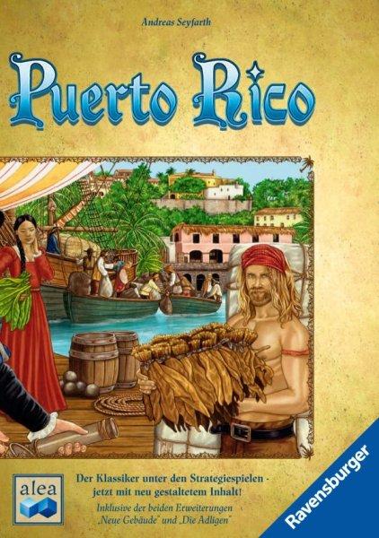 Puerto Rico NEUAUFLAGE inkl. Neue Gebäude und Die Adligen Erweiterung für 22,99€ (Neukunden für 19,99) inkl. Versand (Idealo 27,90€)