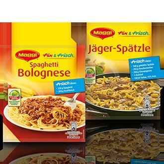Rewe: verschiedene Sorten von Maggi fix & frisch für 0,45€