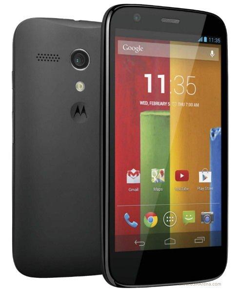 Motorola Moto G (8Gb) 167,99€ inkl. O2-, Festnetzflat, 300MB Datenflat
