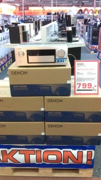 [LOKAL] [Bremen Saturn] DENON AVR X4000 für 799€ + 50€ Gutschein