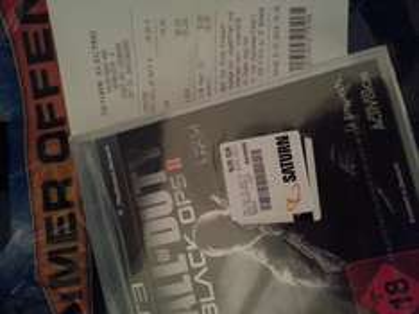 [LOKAL] Call of Duty Black Ops 2 (PS3) - 100% Uncut @ Saturn