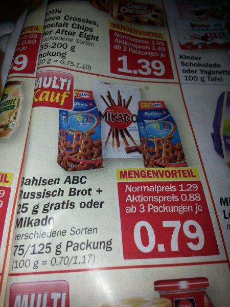 [HIT BUNDESWEIT 03.-08.02.2014] Mikado versch. Sorten für 0,79€ ab 3 Packungen