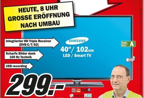 [Lokal] Samsung UE40F5370 @ MediaMarkt Neubrandenburg (weitere Angebote im 1. Kommentar)