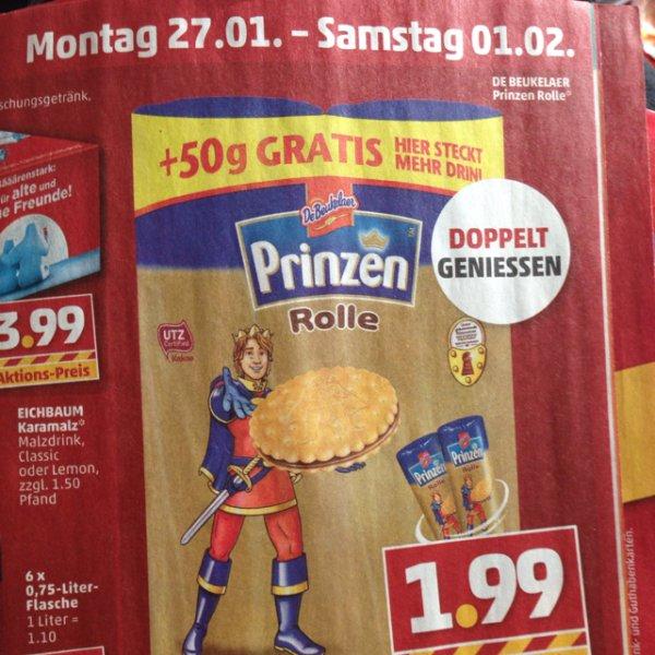 Prinzenrolle Doppelt Genießen + 50g Gratis @Penny (Stuttgart)