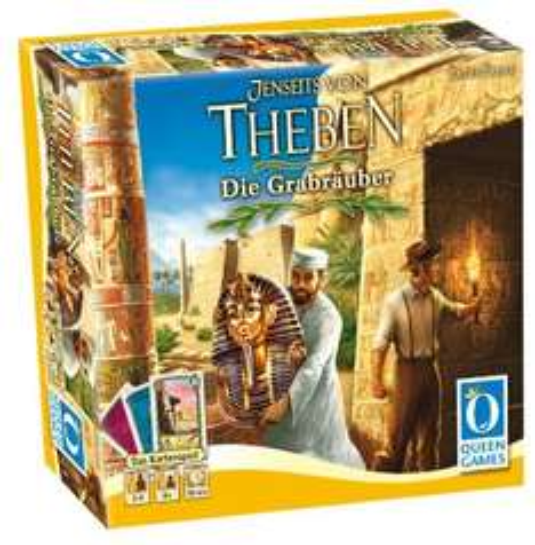 Jenseits von Theben - Die Grabräuber (Kartenspiel, Queen Games)