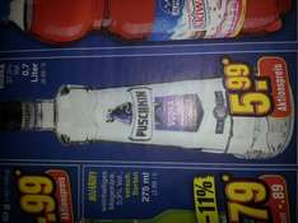 [Netto Markendiscount] Pushkin Vodka 0.7 Liter