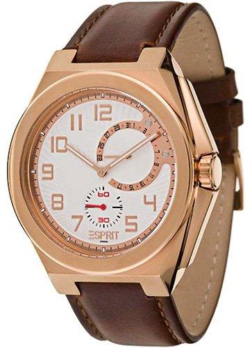 [Amazon] Esprit Herren-Armbanduhr Fine Craft Rose/Brown - wieder für 39,68€