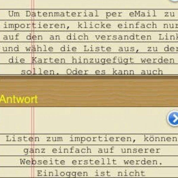 [ios] Study Aid - Lernhilfe - sonst 1,79€