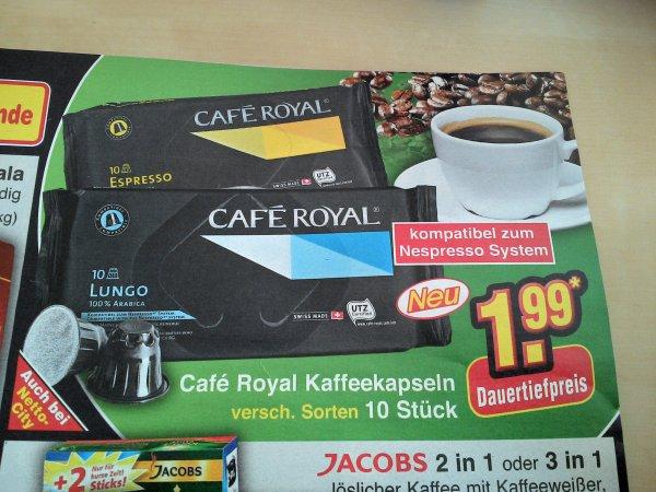 Nespresso kompatible Kapseln bei Netto