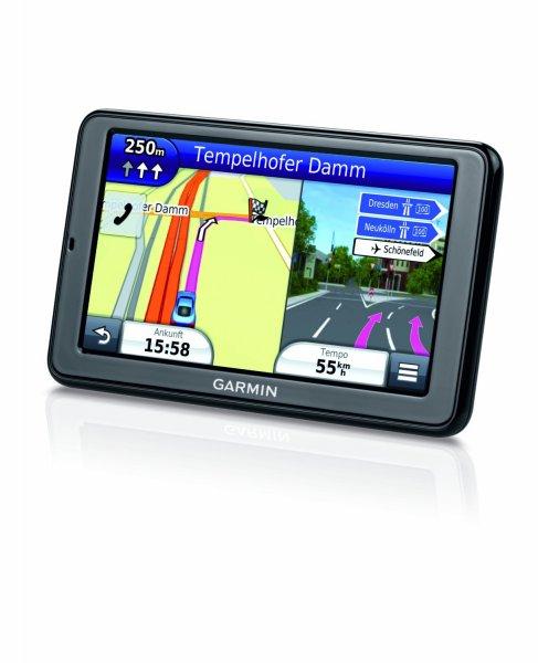 Garmin nüvi 2595 LMT Navigationsgerät (12,7 cm (5,0 Zoll) Display, 3D Traffic, Gesamteuropa, Lifetime Map Update, Bluetooth, Sprachsteuerung) für 107,26€ @ WHD Idealo ab 141,40€