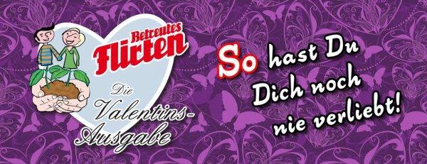 Freikarten: Betreutes Flirten - die Valentins-Ausgabe