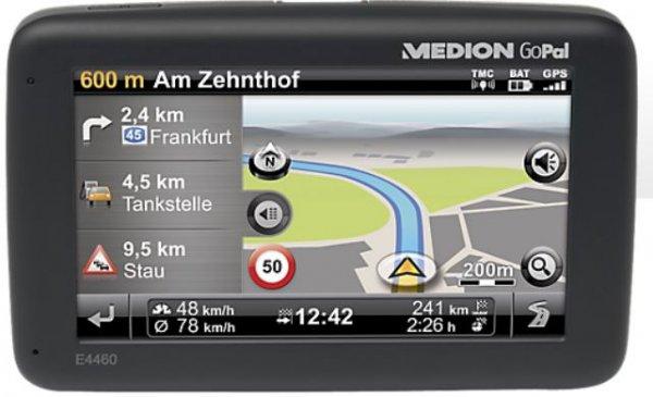 Design Navigationssystem MEDION® GoPal® E4460 EU (B-Ware  64,95 € +Vsk.