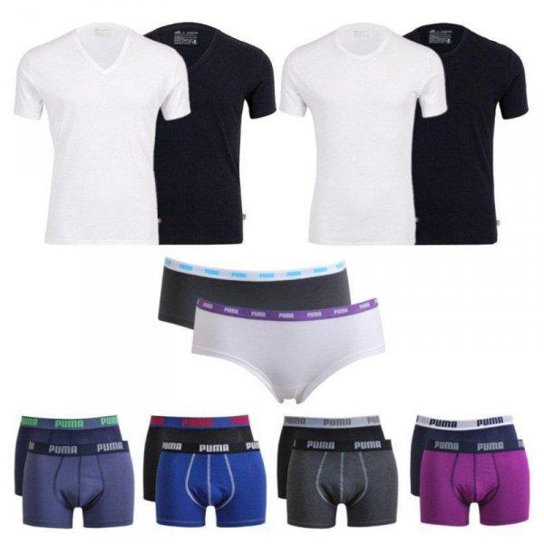Puma - 4x T-Shirts ODER 6x Boxer ODER 6x Hipster für 27,90€ eBay WOW des Tages!