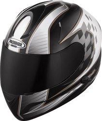 Helm Probiker PR2 in Weiß/schwarz Dekor für nur 64,90 statt 109,95 online bei louis