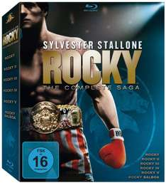 [Amazon.de] Rocky - The Complete Saga (Teil 1-6) [Blu-ray]  für 25,97 €