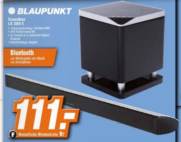 Blaupunkt LS 200e 2.1 Superslim Soundbar System 150Watt RMS Bluetooth, offline bei Expert