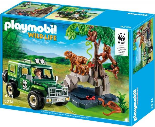 Playmobil™ - WWF-Geländewagen bei Tigern und Orang-Utans (5274) ab €14,62 [@Karstadt.de]