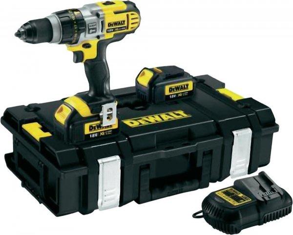 DeWalt 3-Gang Akku-Schlagbohrschrauber DCD985L2K 18 V für 319€ @ Meinpaket und SMDV