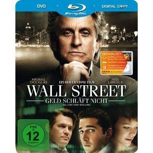 """[Ausverkauft] """"Wall Street 2"""" (Bluray, Steelbook!) für 6,05€"""