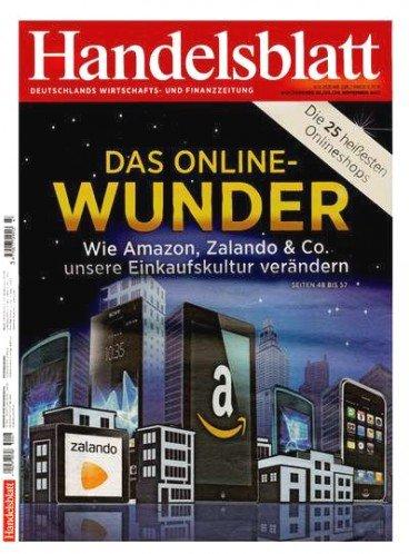 Handelsblatt Abo 4 Wochen für 34,90€ + 35€ Amazon Gutschein