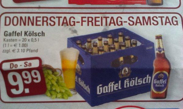 [lokal Köln]Gaffel Kölsch Kiste für 9.99€