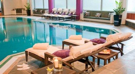 [LOKAL MÜNCHEN] 29 € -- Wellnesszeit für 2 im Luxus-Spa & Prosecco, -68%