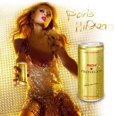PARIS HILTON DOSE -Rich Prosecco Classic Frizzante 24er Pack 200ml - für 20,95 € inkl. Versand