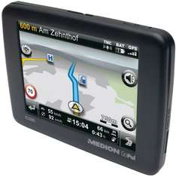"Medion™ - Navigationssystem ""GoPal E3260"" (3.5"",TMC,Westeuropa) [B-Ware] für €36,95 [@MeinPaket.de]"