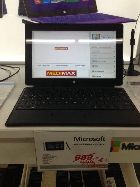 [Lokal?] MediMax Gera - Microsoft Surface PRO 64GB