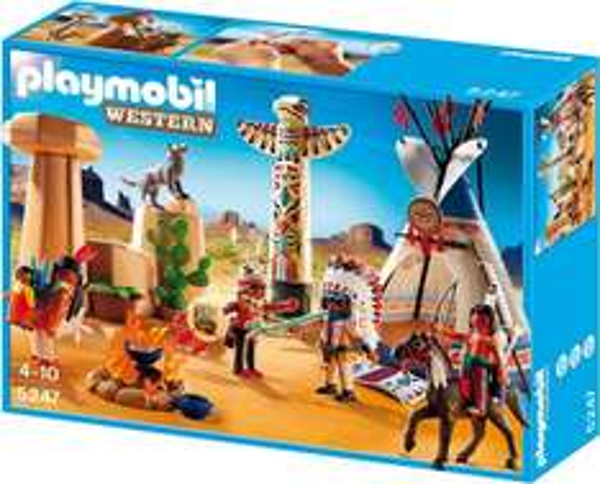 Playmobil™ - Indianercamp mit Totempfahl (5247) ab €8,77 [@Karstadt.de]