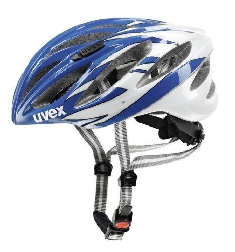 [Amazon] Fahrradhelm Uvex Boss Race ab 57,15 € (Preis gilt nur in 55-60 und blau-weiß!) statt ca. 70 €