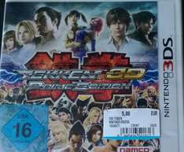 Tekken 3D Prime Edition für Nintendo 3DS (Lokal? - MM Meppen)