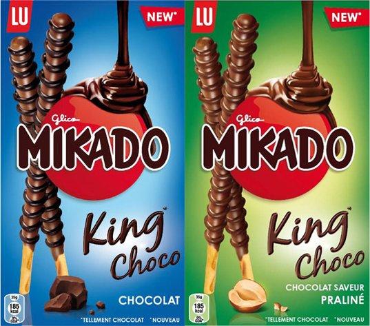 Mikado King Choco [Metro] [Coupies]