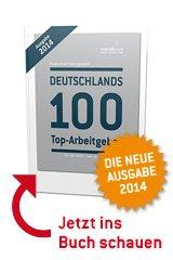 """Neue Ausgabe """"Deutschlands 100 Top-Arbeitgeber"""" gegen Kostenlos-Registrierung"""