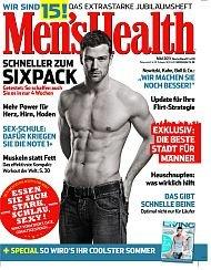 13 Ausgaben Men's Health für effektiv 9€