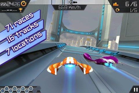 [iOS] AXL: Full Boost - ähnlich F-Zero