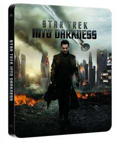 Star Trek - Into Darkness 3D - Limited Steelbook Lenticular Edition [3D Blu-ray + Blu-ray] für 15€