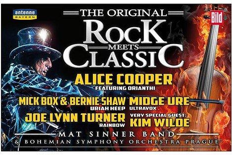 (Essen) - Rock meets Classic - Zwei Tickets (PK 2) zum Preis von einem am 02.04.2014 - Headliner Alice Cooper