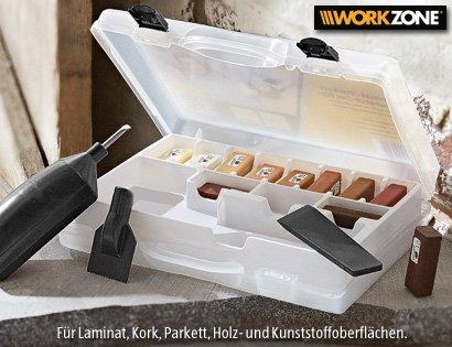 (Aldi Süd) Laminat-/Parkett- und Fliesen Reparatur-Set 14,99€ nächster Preis ca.36€