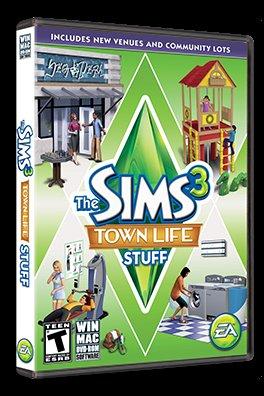 Sims 3 Town Life Stuff DLC