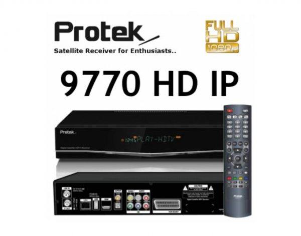 Oha-Tagesangebot @ Meinpaket: Protek 9770 HD IP digitaler Sat Receiver DVB-S2 für 229€