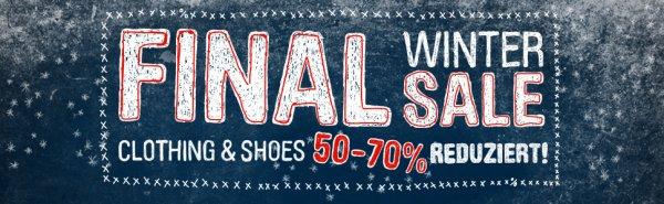 HHV.DE - großer SALE - z.B. Nike Free ab 56€//Air Max 1 ab 67€//diverse Caps unter 10€ u.v.m