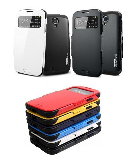 [Groupon] SPIGN Slim armor view Cases für Samsung Galaxy S4 (~68% günstiger) oder andere Cover für Iphone 4+5