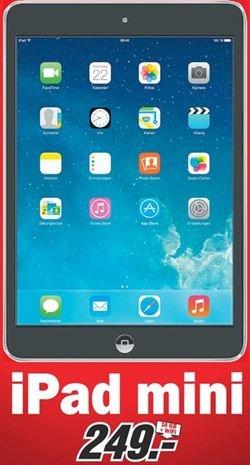 [Lokal] iPad Mini 16GB + WiFi für 249,00 € @MediaMarkt Weiterstadt
