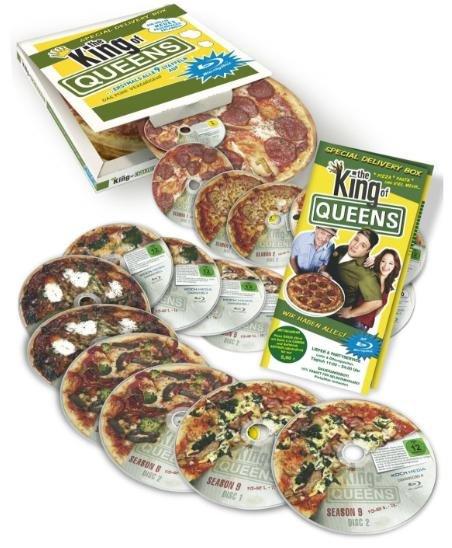 King of Queens - Die komplette Serie in der Pizzaschachtel (Blu-ray) - amazon.de - 99,90€