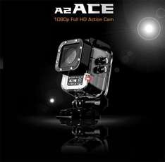 iSHOXS iSaw A2 Ace Full HD Action-Cam OLED, wasserdicht bis 50m, 140° Weitwinkel etc.