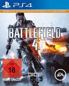 [amazon WHD] Für PLAYSTATION 4: Battlefield 4 - Day One Edition (inkl. China Rising Erweiterungspack)