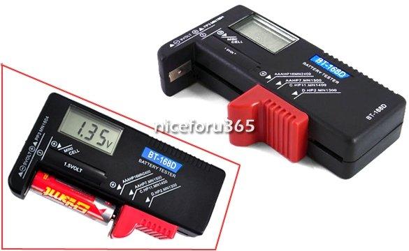Digitaler Universal-Batterietester - Mit 3-stelliger Voltanzeige @ebay CN